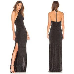 Casino Maxi Dress  Dancing Queen Shine Black S